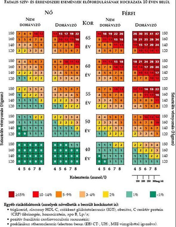 a magas vérnyomás diagnózisa 3 fokozat 4 kockázat mi ez magas vérnyomás és az időjárás