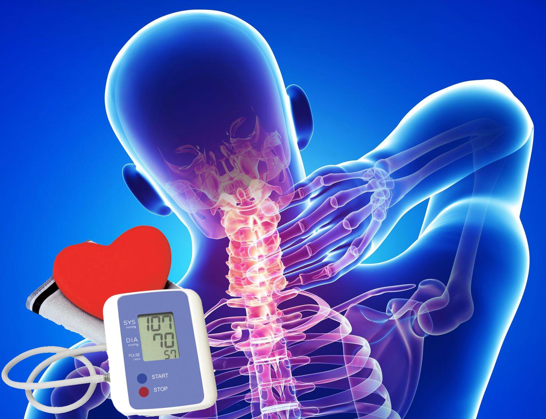 osteochondrosis és hipertónia