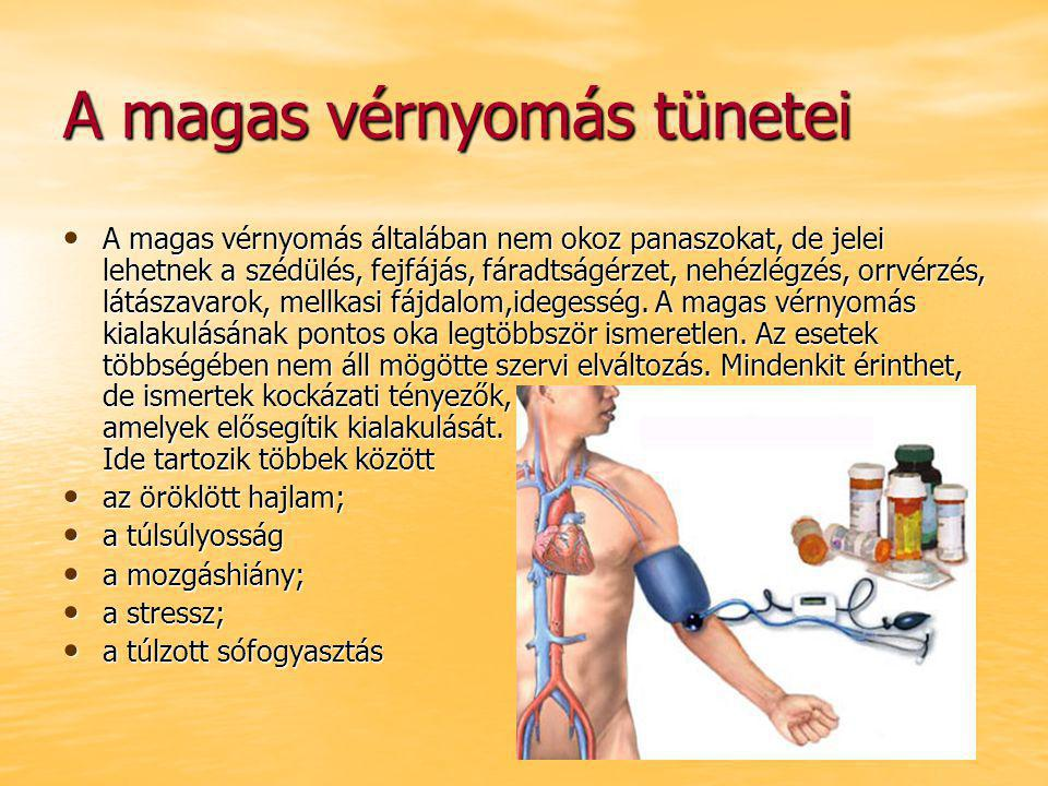 kórház magas vérnyomás kezelésére