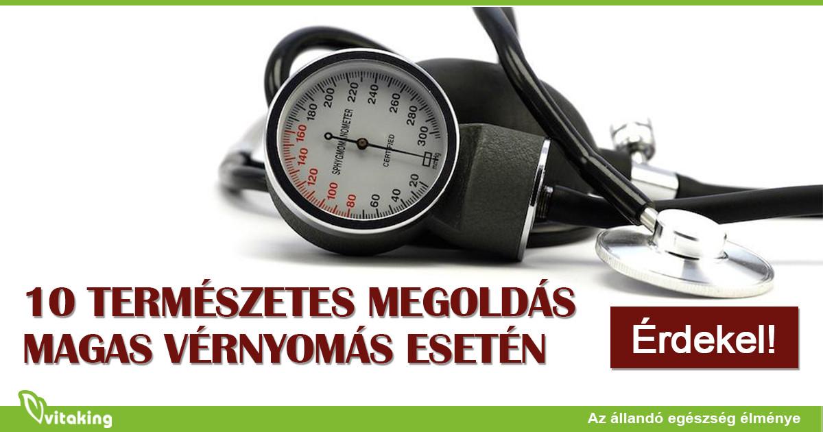 10-es étrend magas vérnyomás esetén
