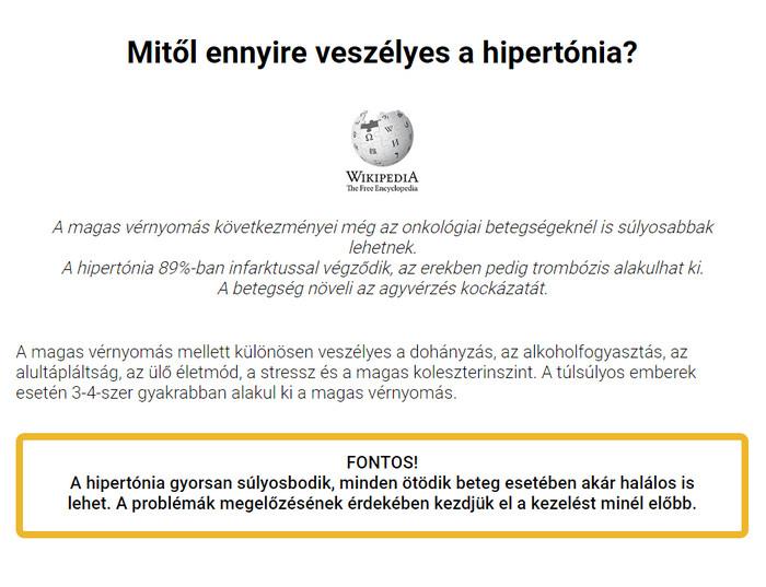 a hipertónia minden szakasza orvosságok magas vérnyomásért időseknél