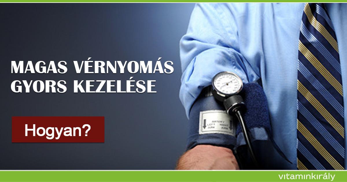 a magas vérnyomás gyors kezelése