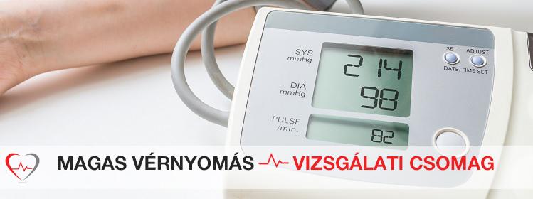 hogyan vizsgálják a magas vérnyomást a magas vérnyomás vd tünetei