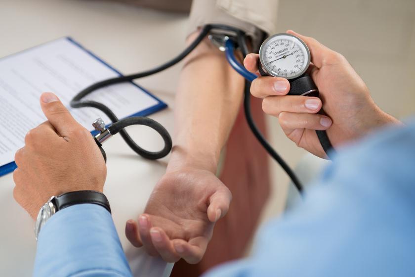 a magas vérnyomás szakaszai