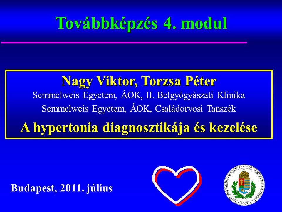 hipertónia prognózisa magas vérnyomás és hipotenzió különbségek