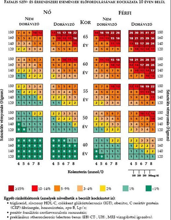 magas vérnyomás tényezők öt tinktúra recept hipertónia