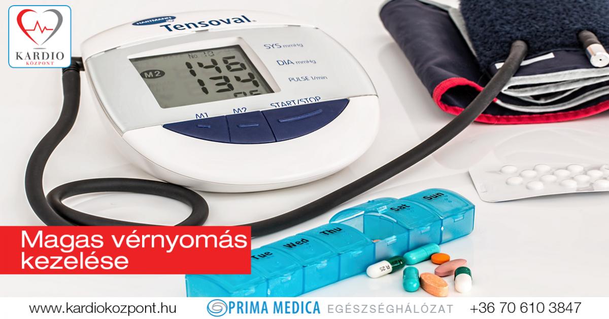 milyen gyógyszereket alkalmaznak a magas vérnyomás kezelésére