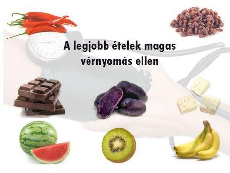 a magas vérnyomás elleni káros élelmiszerek
