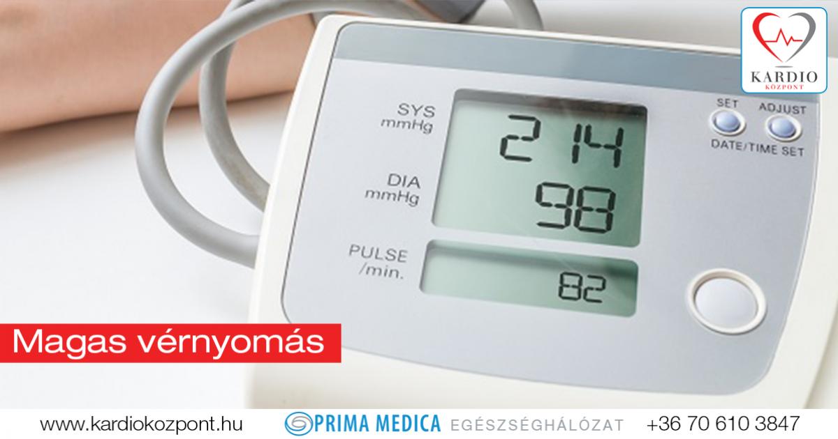 mikor jelent meg a magas vérnyomás